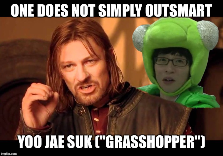 "ODNS Jae Suk | ONE DOES NOT SIMPLY OUTSMART YOO JAE SUK (""GRASSHOPPER"") 