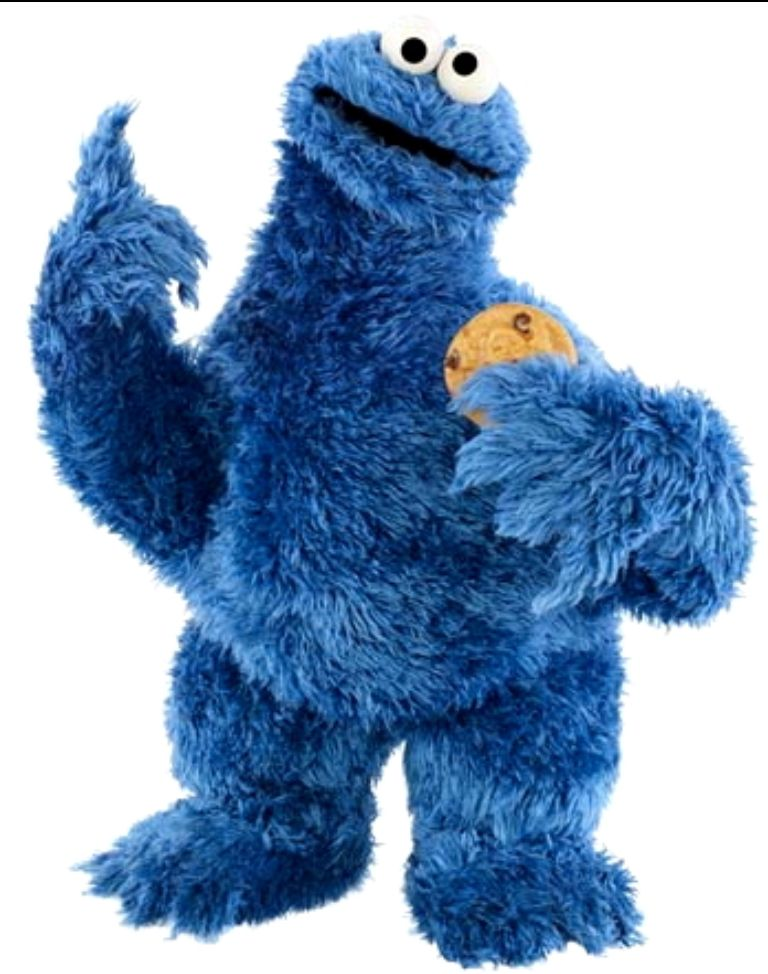 Cookie Monster Has A Point Template