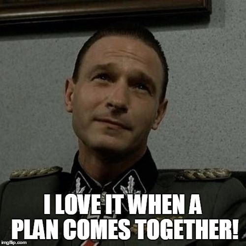 I LOVE IT WHEN A PLAN COMES TOGETHER! | made w/ Imgflip meme maker