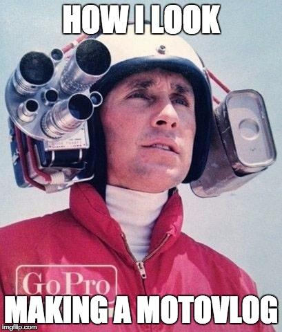 szsrj image tagged in motorcycle,motorbike,gopro imgflip