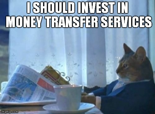 with the Hurricane hitting Mexico i'm sure the mexicans in america are doubling their money transfers back home | I SHOULD INVEST IN MONEY TRANSFER SERVICES | image tagged in memes,i should buy a boat cat,mexicans,happy mexican,money,hurricane | made w/ Imgflip meme maker