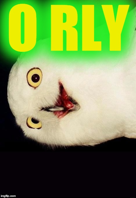 O RLY | made w/ Imgflip meme maker
