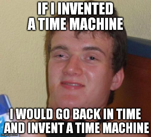 i would like to invent a machine that