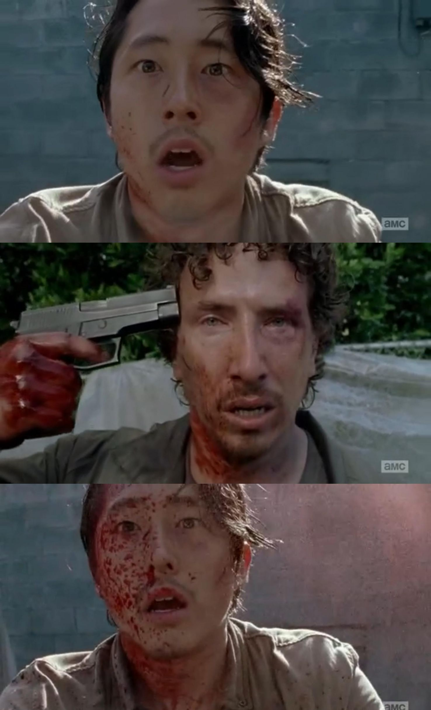 Walking Dead Glenn Nicholas Thank You Meme Generator Imgflip