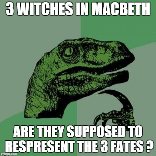 Food for Thought on the Witches of Macbeth