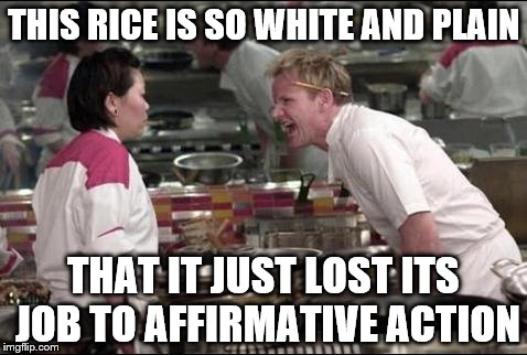 affarmative action a losing battle Oh and we have data and statistics and reference to laws such as affarmative action that exist in white countries where it specificly states to discriminate against.