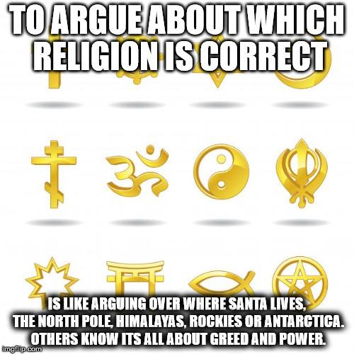 Religious Symbols Imgflip