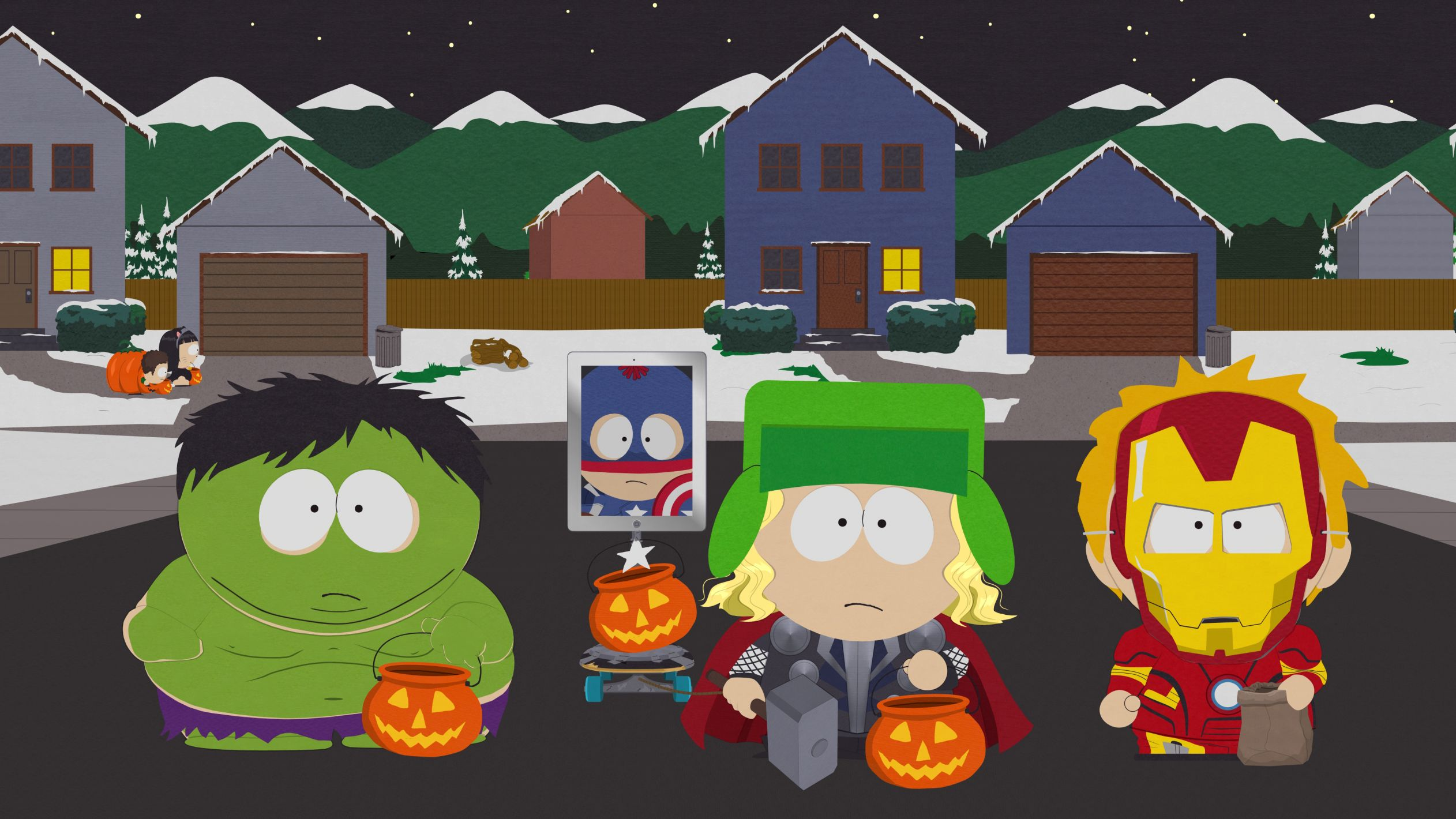 South Park Halloween Blank Template - Imgflip