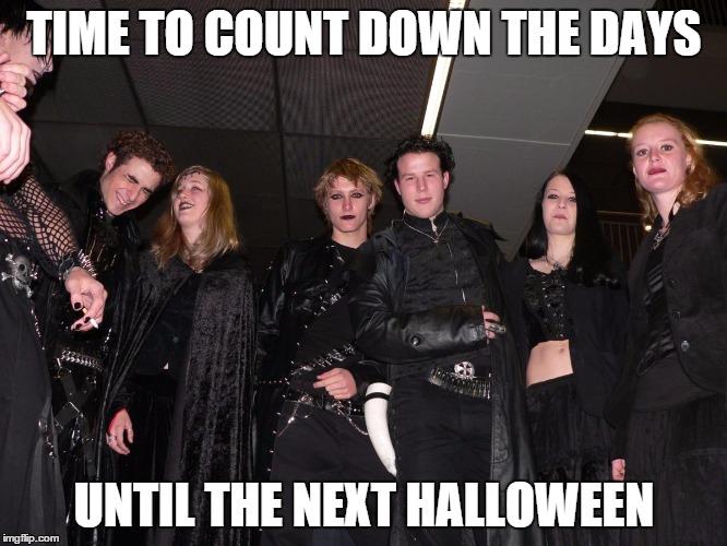 Goth People Memes