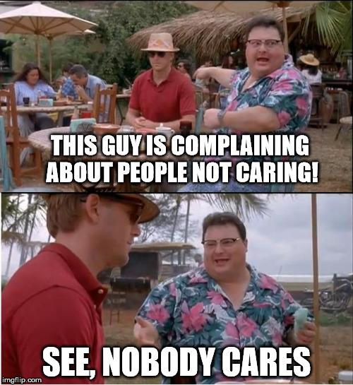 Nobody Cares Meme Joker DorkMagician's Images ...