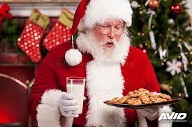 Santa With Cookies Blank Template Imgflip