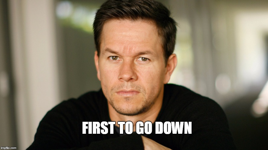 FIRST TO GO DOWN | made w/ Imgflip meme maker