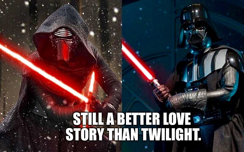Still a better love story.  | STILL A BETTER LOVE STORY THAN TWILIGHT. | image tagged in still a better love story,star wars,the force awakens,star wars the force awakens,star wars episode vii | made w/ Imgflip meme maker