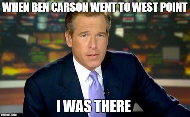 tqdzj brian williams was there meme imgflip,Funny Ben Carson Memes
