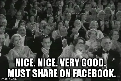 NICE. NICE. VERY GOOD. MUST SHARE ON FACEBOOK. | made w/ Imgflip meme maker