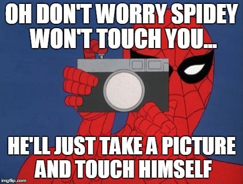 twc3c spiderman camera memes imgflip,Camera Meme