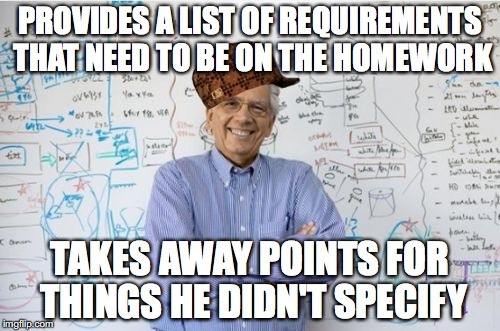 engineering professor meme - photo #16