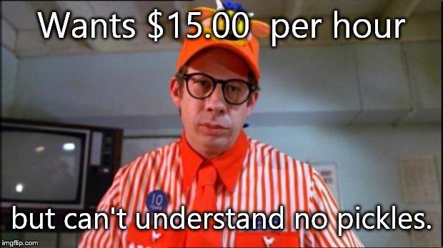 Fast Food Worker - Imgflip Y U No Meme Blank