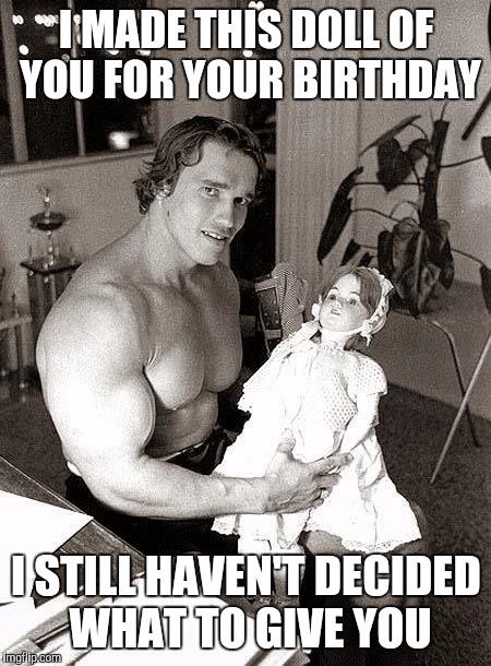u1xv4 arnold birthday imgflip,Arnold Meme