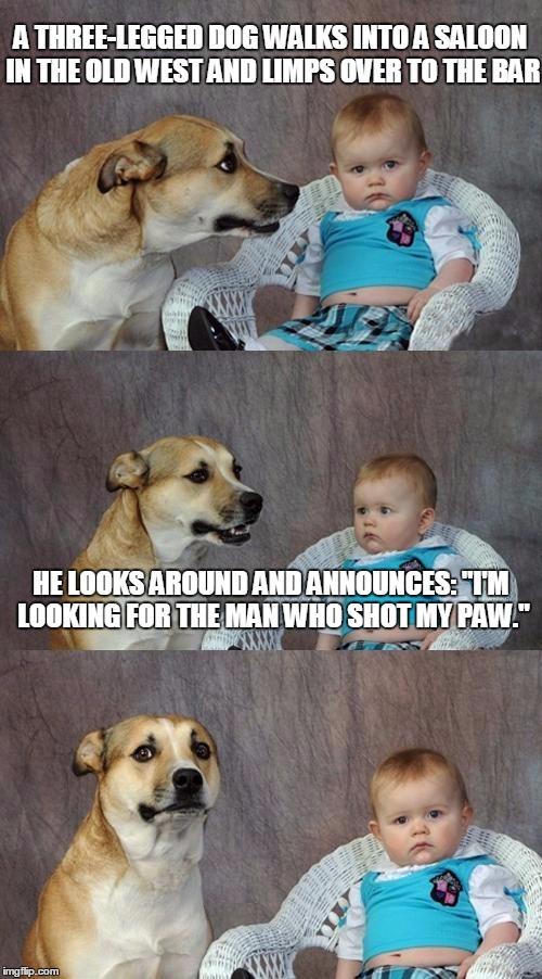 Dad Joke Dog Meme - Imgflip - 113.6KB