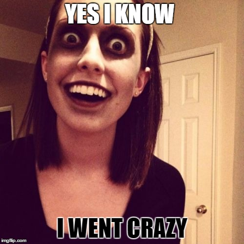 Zombie Overly Attached Girlfriend Meme Imgflip