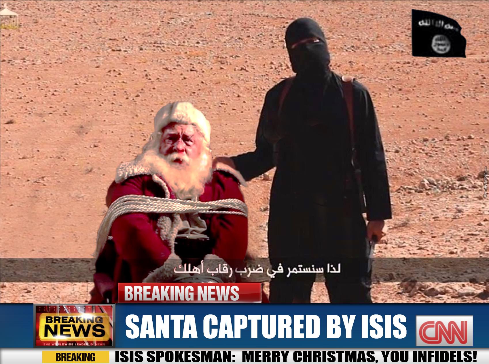 ISIS and Santa Blank Template - Imgflip
