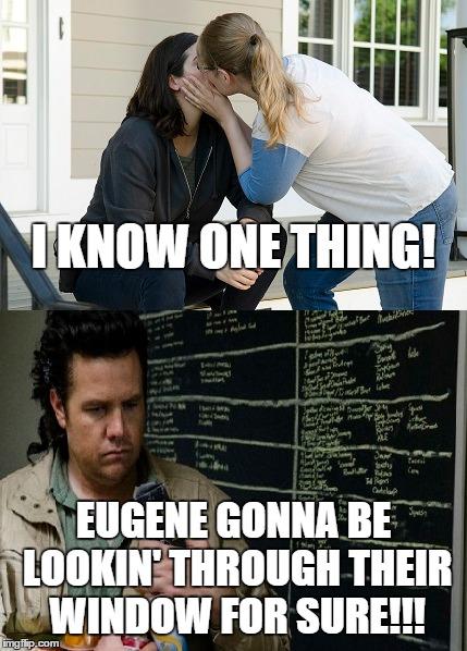 Eugene Walking Dead Meme