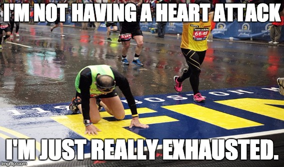 Marathon Runner - Imgflip