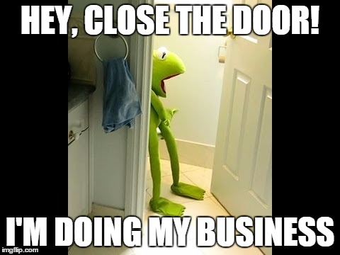 Kermit on toilet - Imgflip