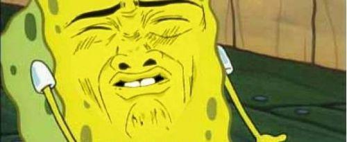 face Spongebob stink