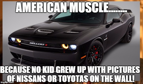 Where Are Nissans Made >> American muscle - Imgflip