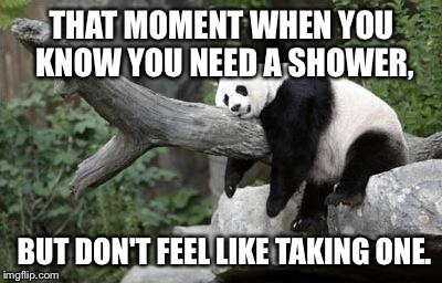 Lazy Panda | THAT MOMENT WHEN YOU KNOW YOU NEED A SHOWER, BUT DONu0027