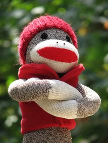 sock monkey blank template imgflip