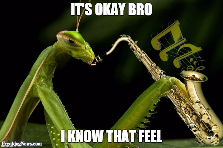 IT'S OKAY BRO I KNOW THAT FEEL | made w/ Imgflip meme maker