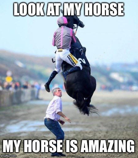 Look At My Horse..