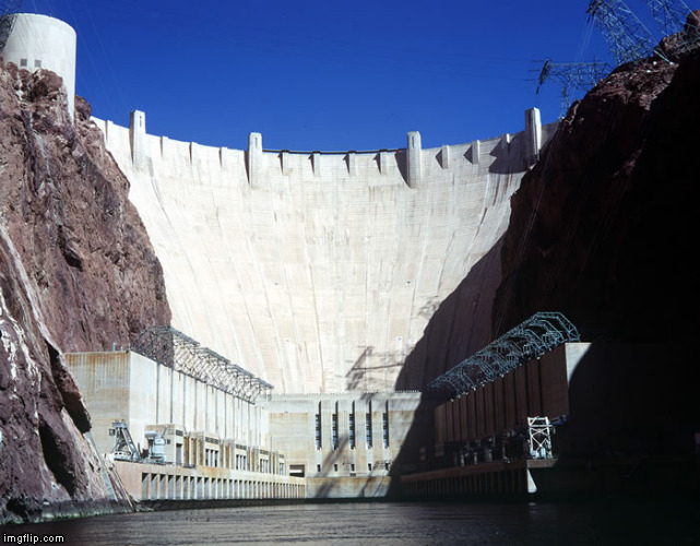 Hoover Dam | . | image tagged in hoover dam | made w/ Imgflip meme maker
