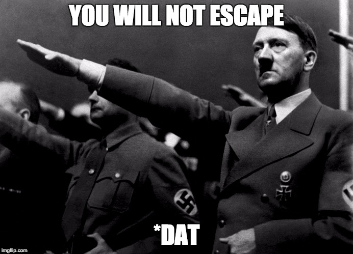 Grammer | YOU WILL NOT ESCAPE *DAT | image tagged in grammer | made w/ Imgflip meme maker