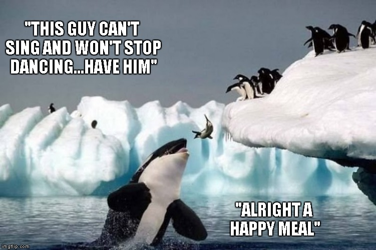 "How ""Happy Feet"" could have ended... 