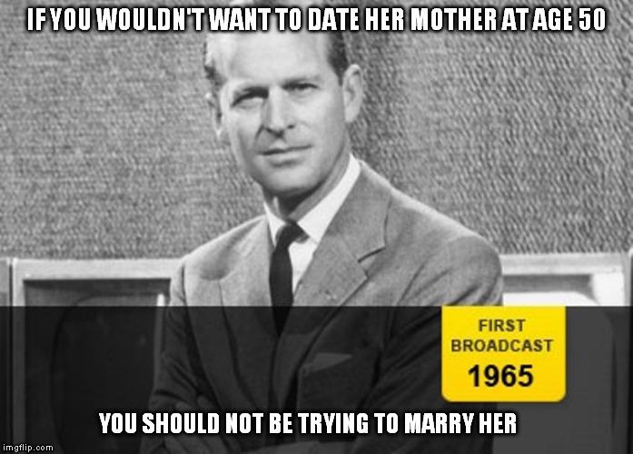 Dating over 50 meme