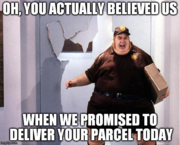 Fat Delivery Man Imgflip