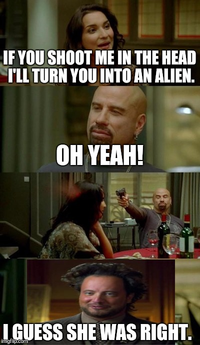 Skinhead John Travolta Meme - Imgflip