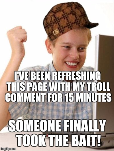 internet First the day meme on