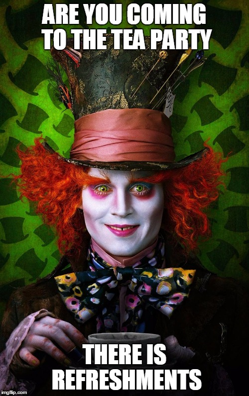mad hatter - Imgflip