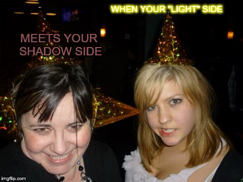 "Too Drunk At Party Tina | WHEN YOUR ""LIGHT"" SIDE MEETS YOUR SHADOW SIDE 