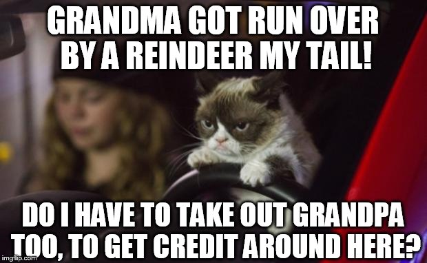 Funny Grumpy Cat Christmas Memes.There Are Plenty Of People On My Christmas List Imgflip