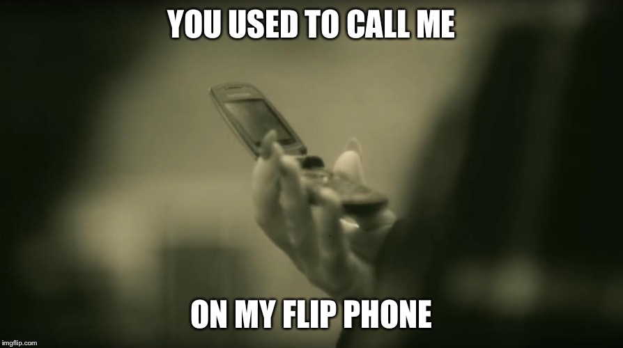 YOU USED TO CALL ME ON MY FLIP PHONE | image tagged in adele hello,drake hotline bling | made w/ Imgflip meme maker
