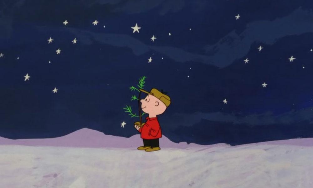 Charlie Brown Christmas Blank Template