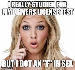 Dumb Blonde Tests 35