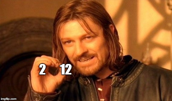2      12 | image tagged in memes,one does not simply | made w/ Imgflip meme maker