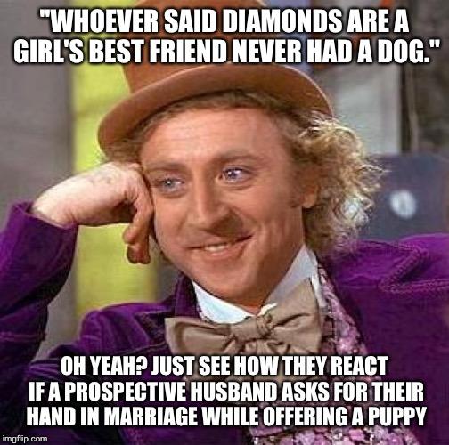v05g2 creepy condescending wonka meme imgflip,Husband Best Friend Meme